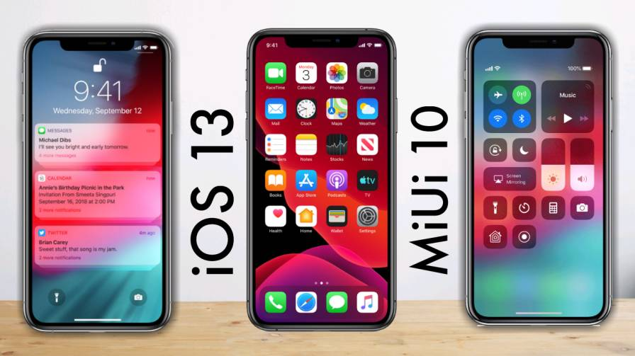 iOS 13 By tecchrushi.com