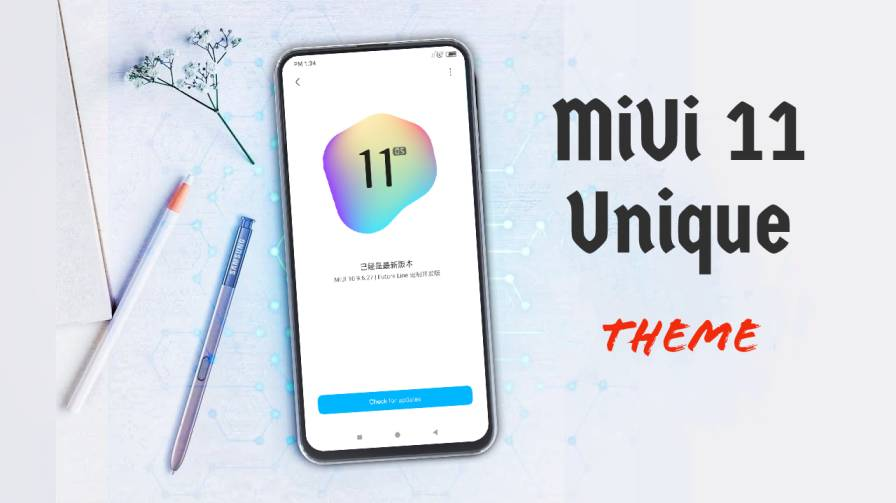 MSimply MiUi themes on techrushi.com