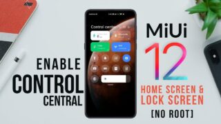 miui 12 control center by techrush