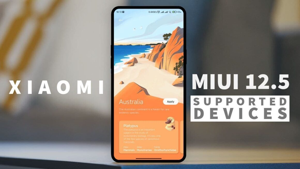 miui 12.5 supported device