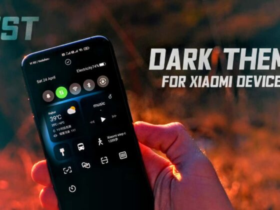 Best Dark MIUI 12 theme download